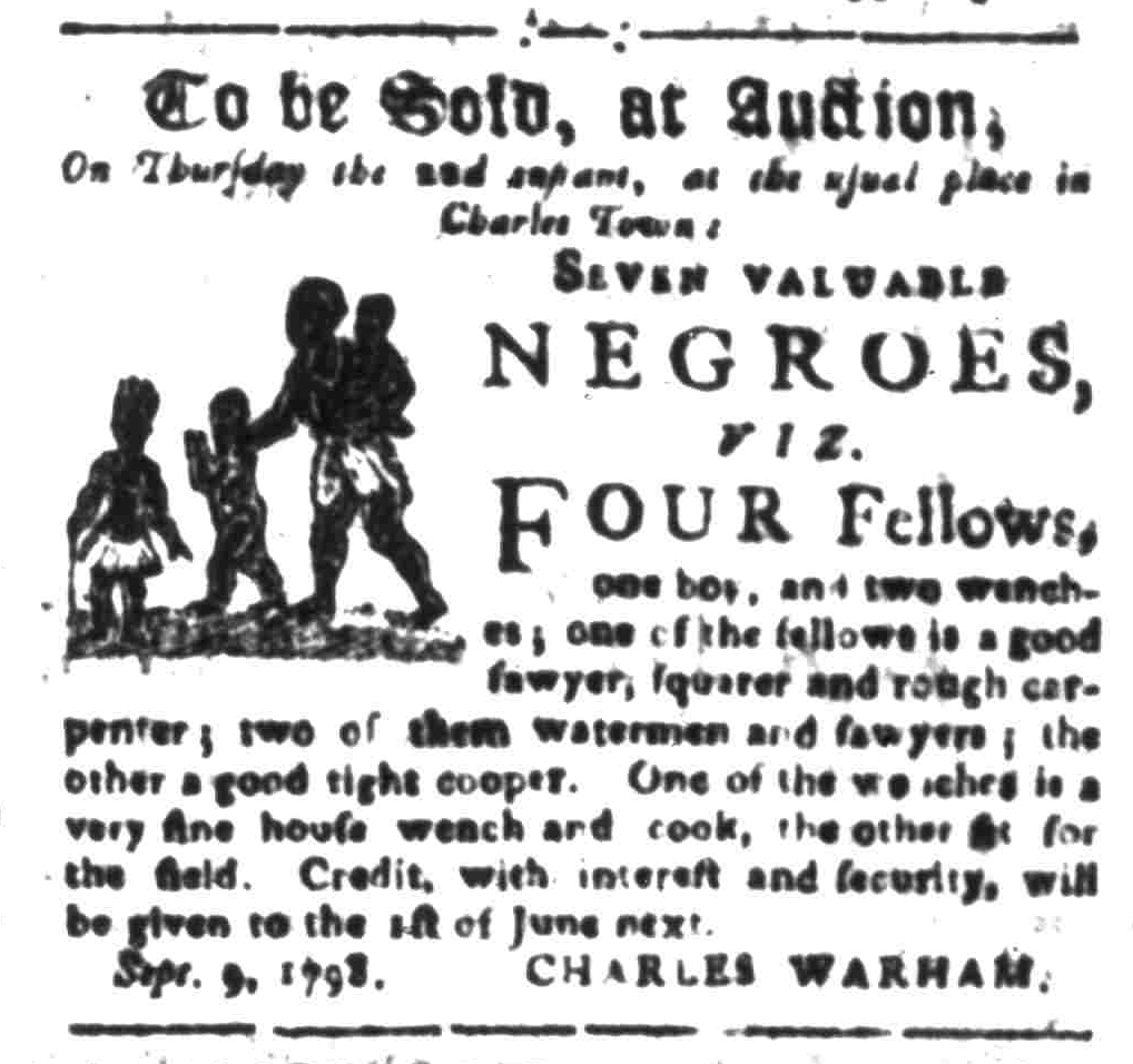 Sep 19 - South-Carolina Gazette Slavery 6