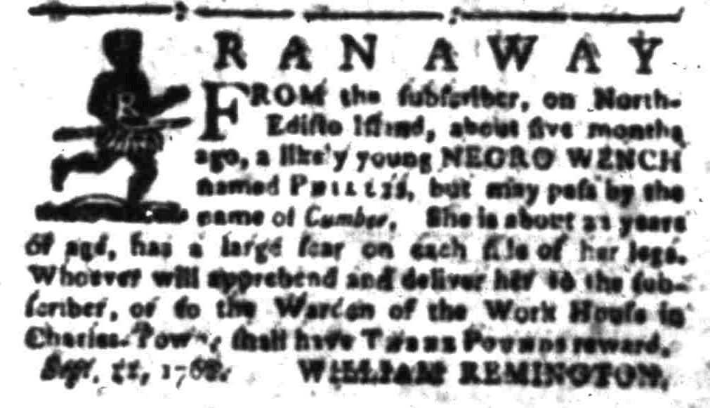 Sep 19 - South-Carolina Gazette Slavery 7