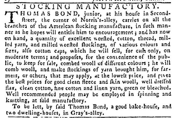 Sep 22 - 9:22:1768 Pennsylvania Gazette