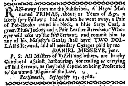 Sep 26 - Boston-Gazette Slavery 3