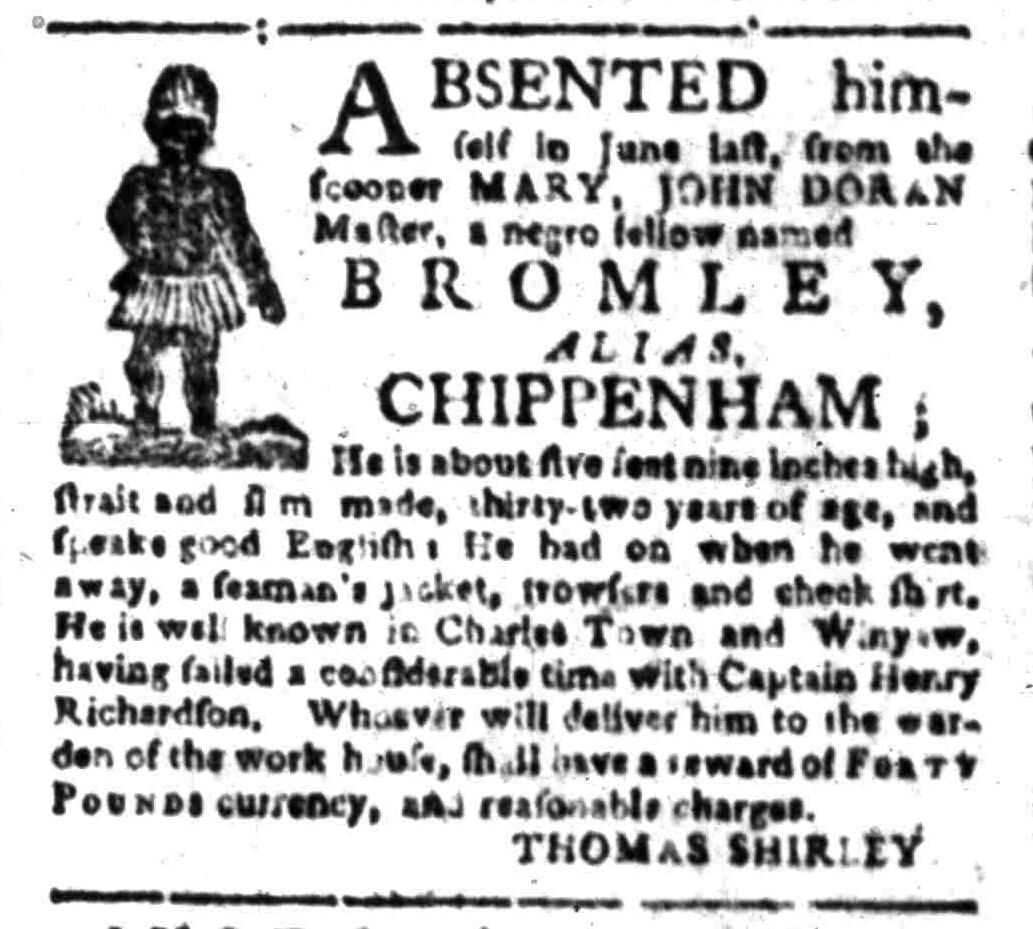 Sep 26 - South-Carolina Gazette Slavery 4