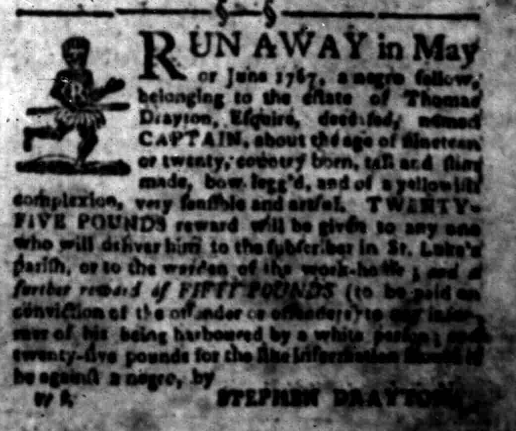 Sep 26 - South-Carolina Gazette Slavery 6