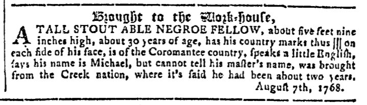 Sep 28 - Georgia Gazette Slavery 7