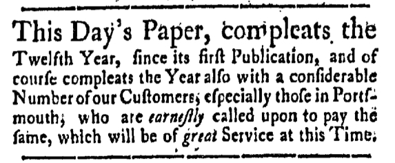Sep 30 - 9:30:1768 New-Hampshire Gazette