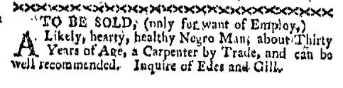 Sep 5 - Boston-Gazette Slavery 1
