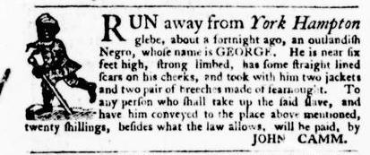 Sep 8 - Virginia Gazette Purdie and Dixon Slavery 2