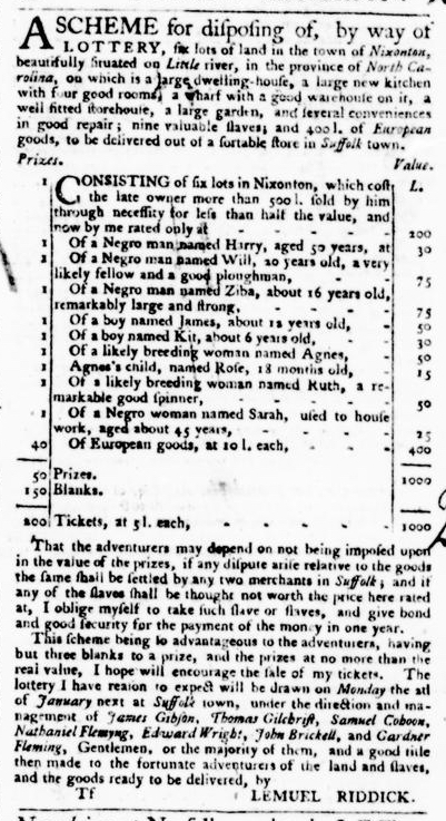 Sep 8 - Virginia Gazette Purdie and Dixon Slavery 5