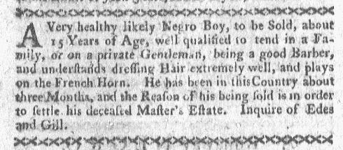 Nov 14 - Boston-Gazette Slavery 3