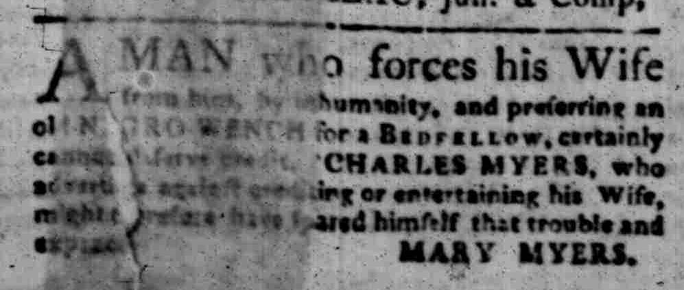Nov 14 - South-Carolina Gazette Slavery 1