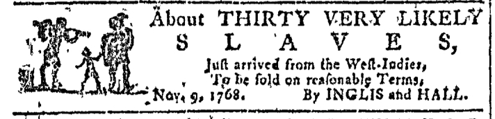 Nov 16 - Georgia Gazette Slavery 2