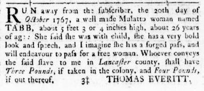Nov 17 - Virginia Gazette Rind Slavery 6
