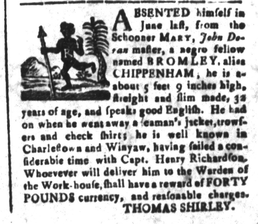 Nov 18 - South-Carolina and American General Gazette Slavery 7