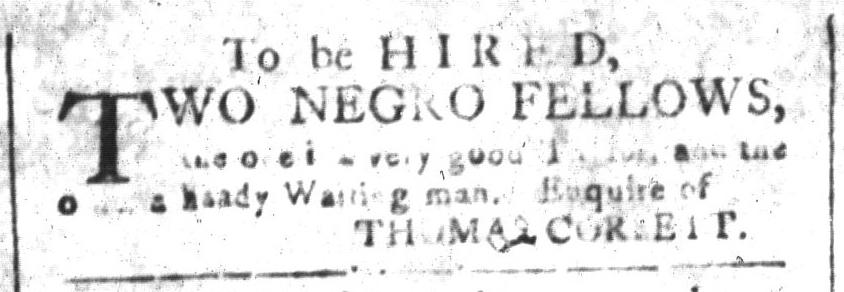 Nov 18 - South-Carolina and American General Gazette Slavery 9