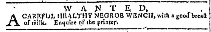 Nov 23 - Georgia Gazette Slavery 1