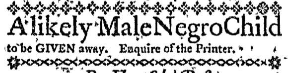 Nov 24 - Massachusetts Gazette Draper Slavery 1