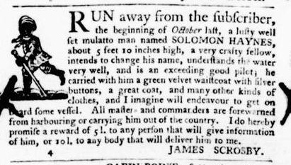 Nov 24 - Virginia Gazette Purdie and Dixon Slavery 13