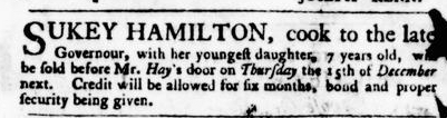 Nov 24 - Virginia Gazette Purdie and Dixon Slavery 2