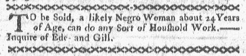 Oct 10 - Boston-Gazette Slavery 1