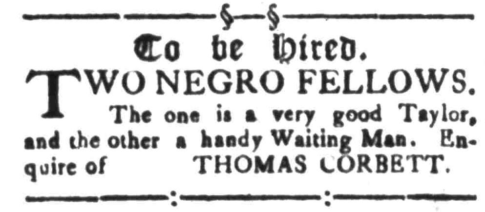 Oct 10 - South-Carolina Gazette Slavery 1