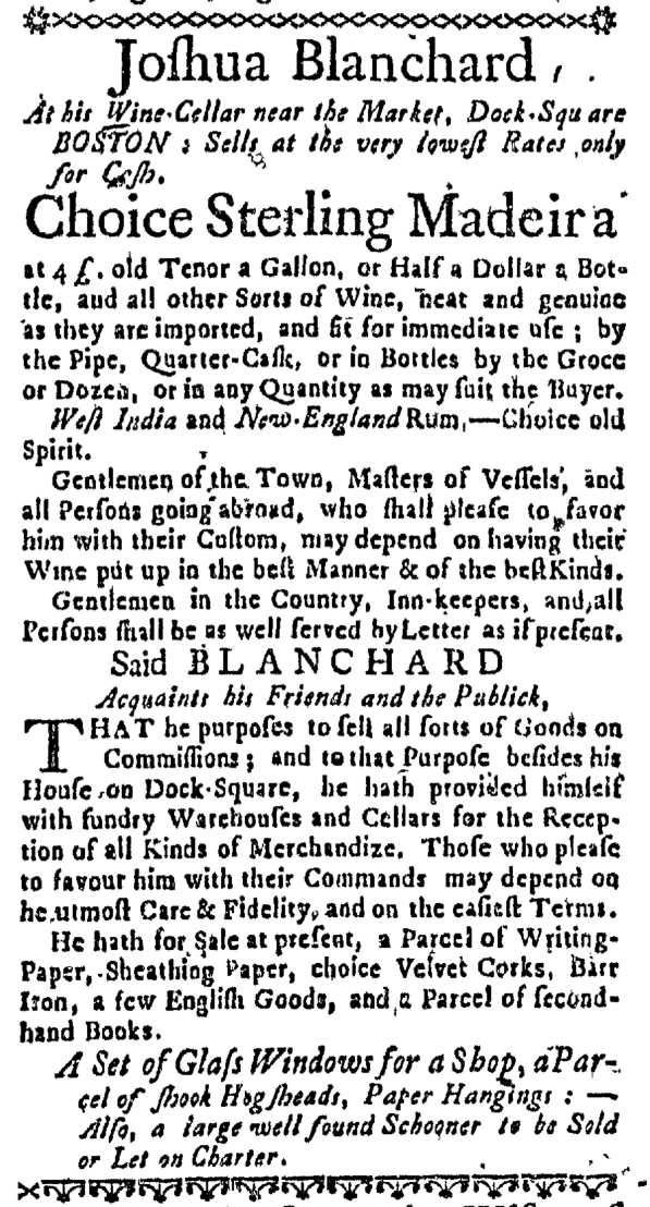 Oct 13 - 10:13:1768 Massachusetts Gazette Draper
