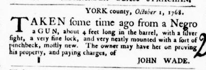 Oct 13 - Virginia Gazette Purdie and Dixon Slavery 3