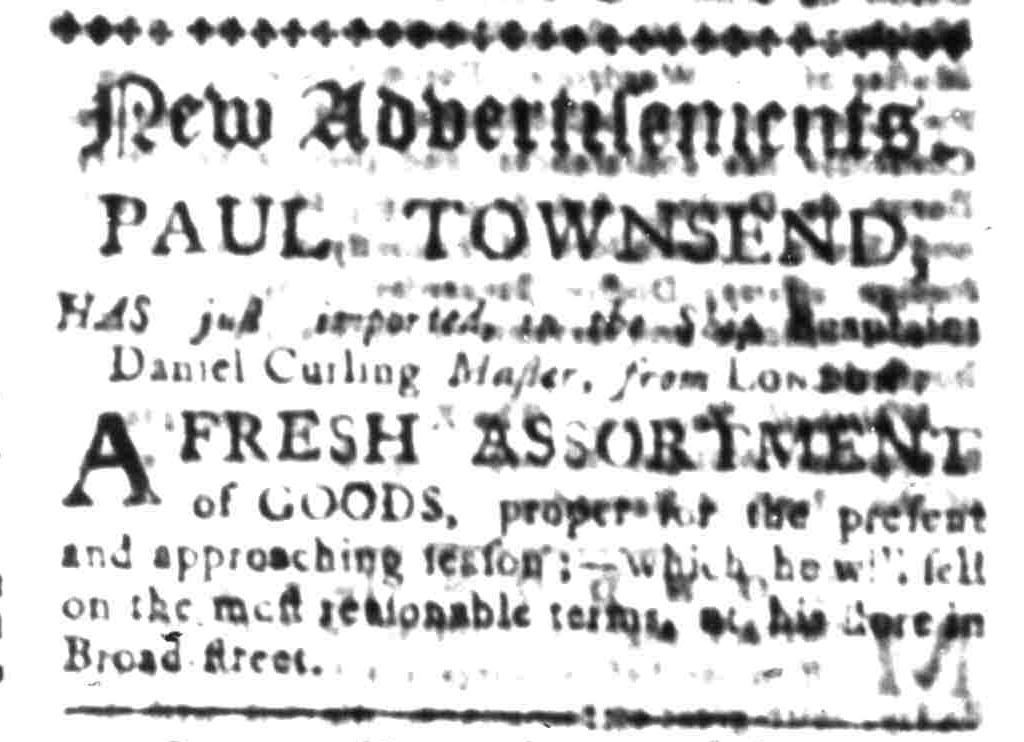 Oct 16 - 10:16:1768 South-Carolina Gazette