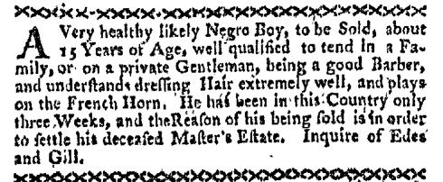 Oct 17 - Boston-Gazette Slavery 3