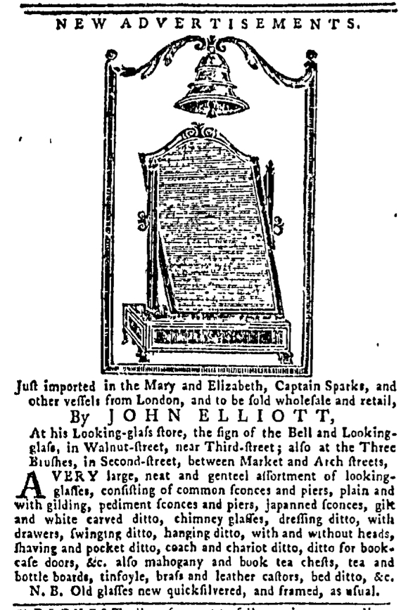 Oct 20 - 10:20:1768 Pennsylvania Gazette Postscript