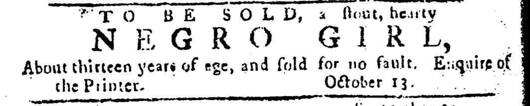 Oct 20 - Pennsylvania Journal Slavery 1
