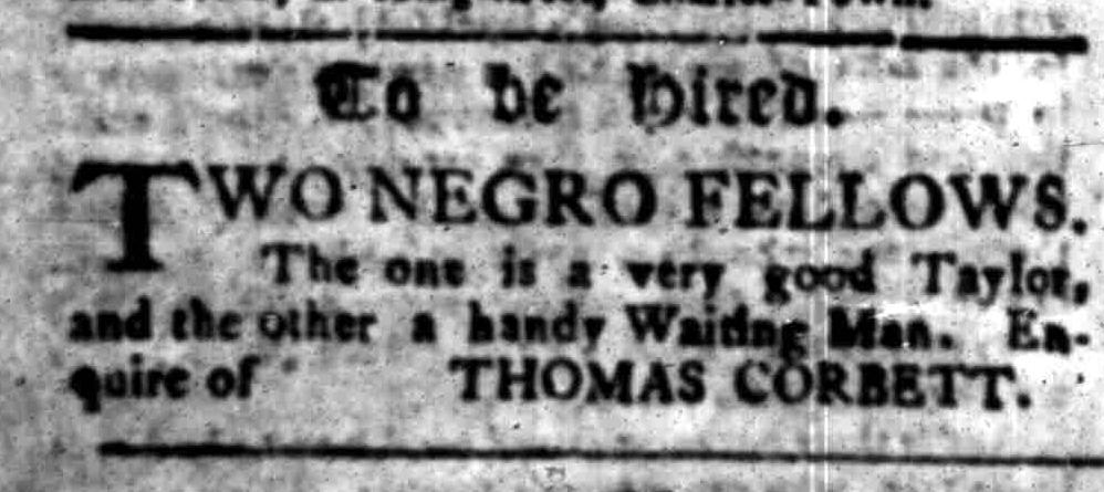 Oct 24 - South-Carolina Gazette Slavery 3