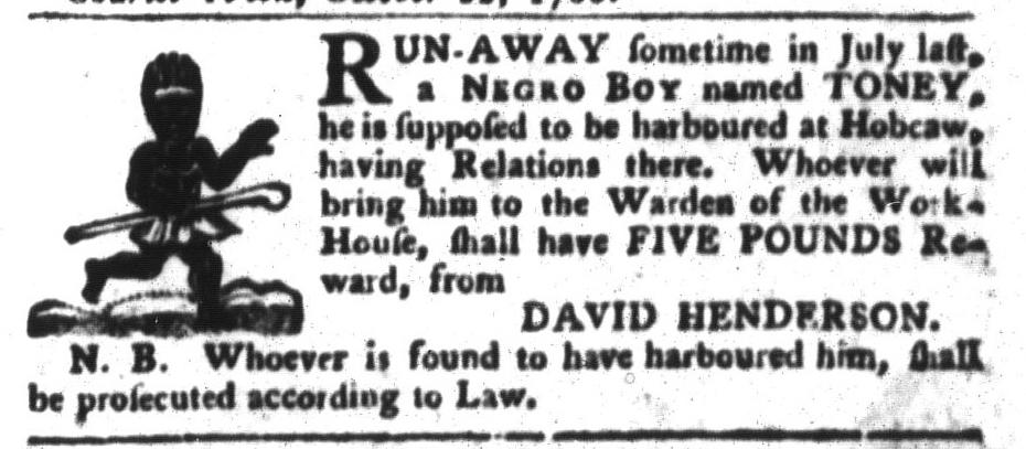 Oct 25 - South-Carolina Gazette and Country Journal Slavery 4