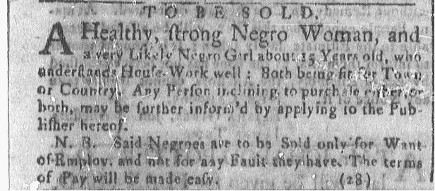 Oct 31 - Newport Mercury Slavery 1