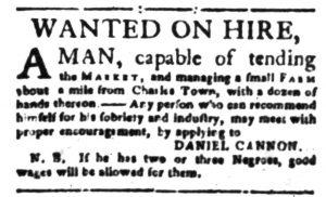 Dec 1 - South-Carolina Gazette Slavery 6