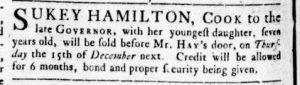 Dec 1 - Virginia Gazette Rind Slavery 3