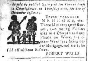 Dec 5 - South-Carolina and American General Gazette Slavery 1