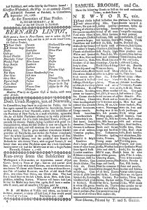 Nov 25 - 11:25:1768 Connecticut Journal