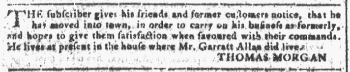 Nov 9 - 11:9:1768 Georgia Gazette