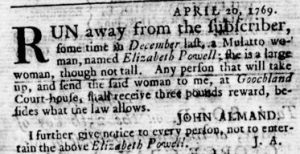 May 11 - Virginia Gazette Rind Slavery 2