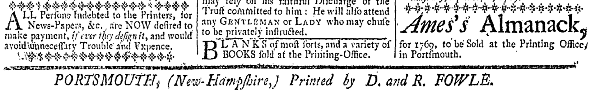 May 12 - 5:12:1769 New-Hampshire Gazette