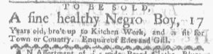 May 15 - Boston-Gazette Slavery 1