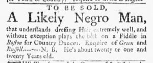 May 15 - Massachusetts Gazette Green and Russell Slavery 2
