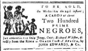 May 15 - South-Carolina and American General Gazette Slavery 1