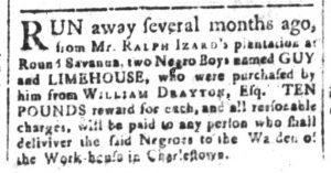 May 15 - South-Carolina and American General Gazette Slavery 2