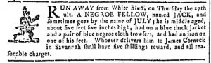 May 17 - Georgia Gazette Slavery 8
