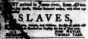 May 18 - Virginia Gazette Purdie and Dixon Slavery 1