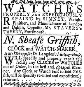 May 19 - 5:19:1769 New-Hampshire Gazette