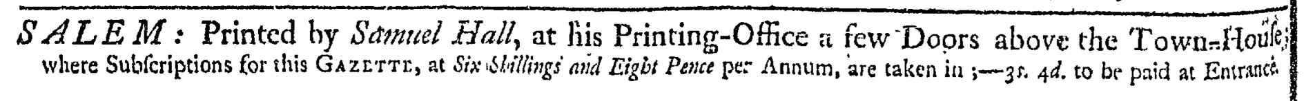 May 23 - 5:23:1769 Essex Gazette