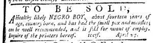 May 25 - Pennsylvania Journal Slavery 2