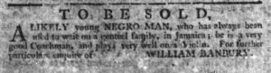 May 25 - South-Carolina Gazette Postscript Slavery 2