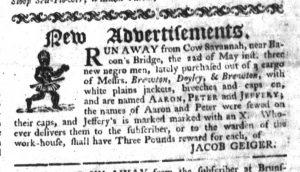 May 25 - South-Carolina Gazette Slavery 2